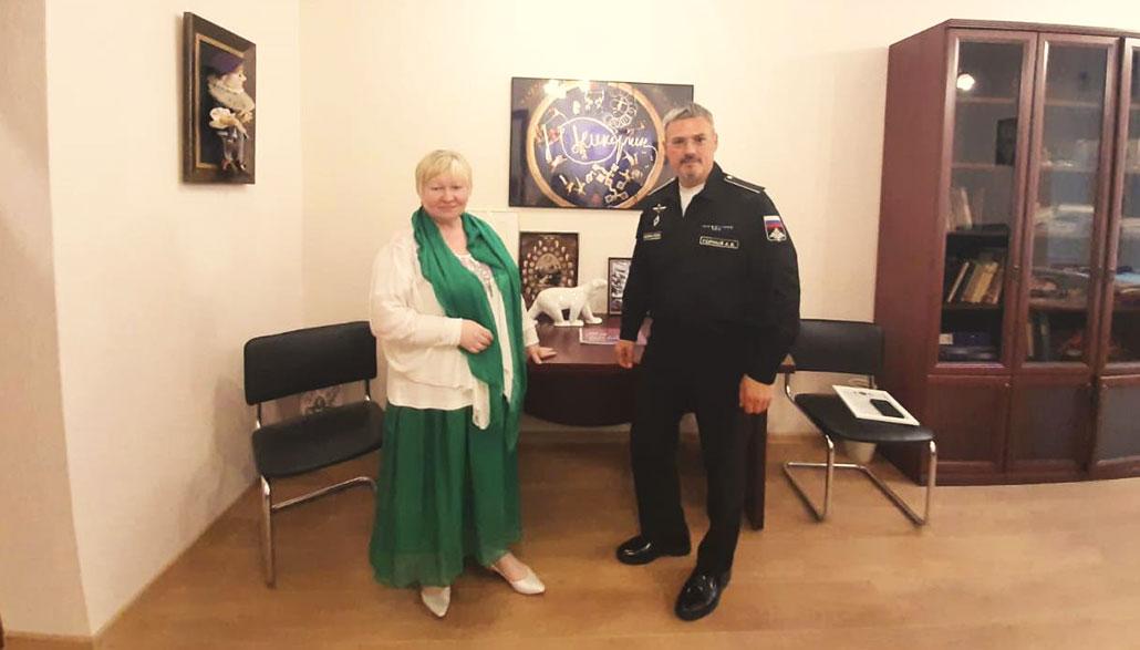 с директором Департамента культуры Министерства обороны